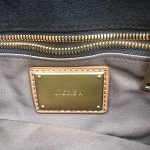 J. Crew Bags - J. Crew black leather clutch